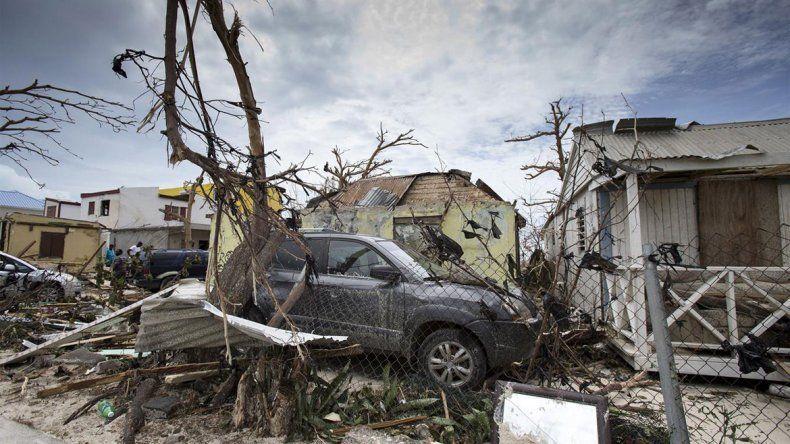<p>Devastación en Saint Maarten, la parte holandesa de la isla San Martín, una de las más afectadas por el ciclón.</p><p></p>