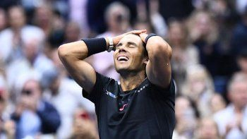 Rafael Nadal consiguió hoy su decimosexto título de Grand Slam
