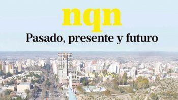 Una panorámica imponente desde el aire que muestra el crecimiento que tuvo la ciudad de Neuquén en estos 113 años.