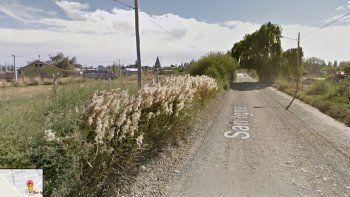 Murió el joven baleado en un camino rural de Valentina Sur