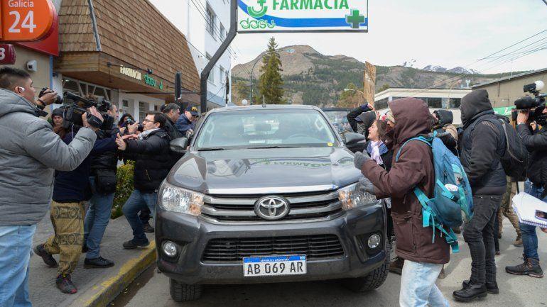 Tensión en el juzgado tras la declaración de gendarmes