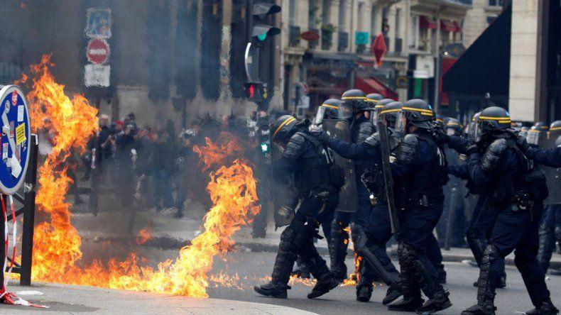La CGT afirmó que hubo más de 400.000 manifestantes.