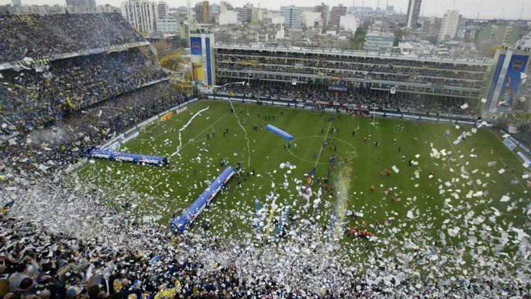 La cancha de Boca ya está lista para cobijar Argentina-Perú.