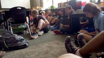Un muerto y cinco heridos durante tiroteo en una escuela de EE.UU.