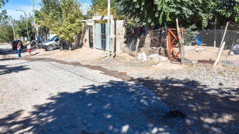 La víctima llagaba a su casa en Toma Norte cuando fue sorprendida.