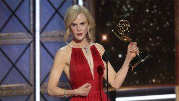 Nicole Kidman, una de las grandes ganadoras de la noche.