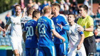 escandalo en alemania por un gol antideportivo