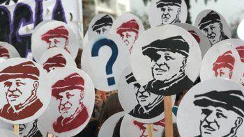 Acto por los 11 años de la desaparición de Julio López