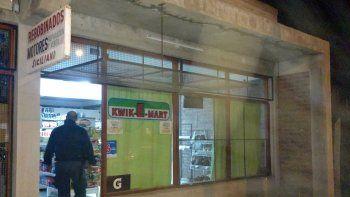 La Policía acudió al mercado tras el robo y el enfrentamiento.