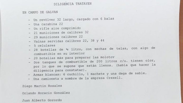Mapuches denuncian