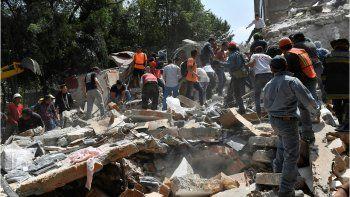Un nuevo terremoto de 6