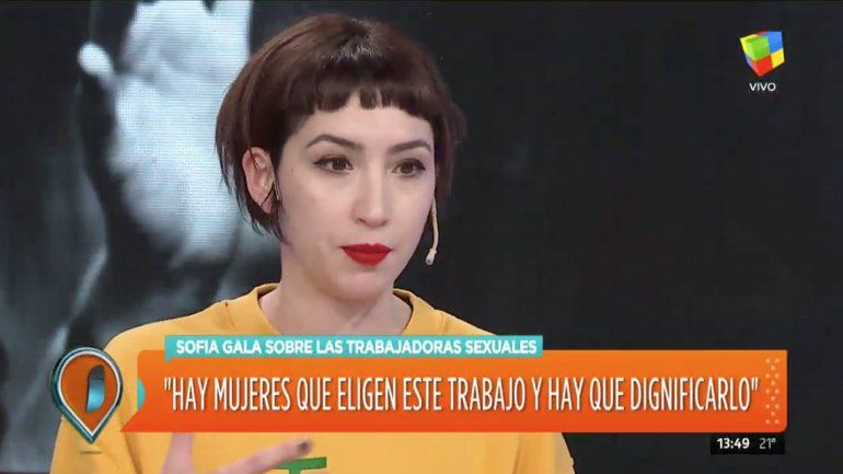 "Resultado de imagen para Sofía Gala, polémica: ""Prefiero ser puta antes que moza"""
