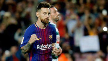 La Pulga volvió a romperla para el Barcelona y alcanzó otro récord.