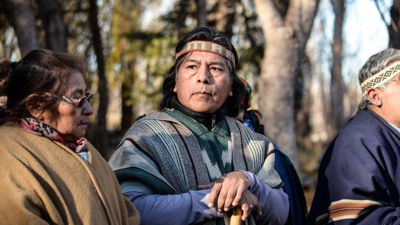 Jorge Nahuel dijo que los mapuches no tienen como símbolos las armas.