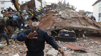 El horror de un neuquino en México: Corrí a buscar a mi hijo mientras caían edificios a mi alrededor