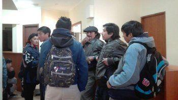 mapuches tomaron el juzgado y piden la renuncia del juez