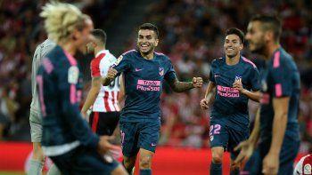 Correa aportó un gol en la victoria del Atlético Madrid al Bilbao