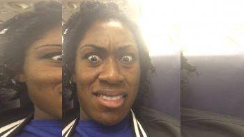 una pasajera se llevo una apestosa sorpresa en el avion
