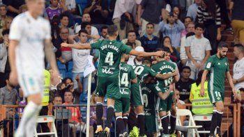 El Real perdió con Betis sobre la hora y se diluyó un récord