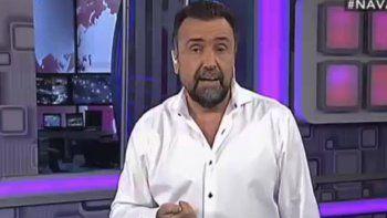 Es un cambio de época y van por más, dijo Navarro sobre la injerencia del Gobierno para sacarlo de los medios.