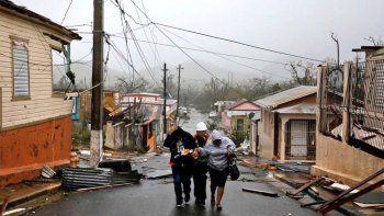 El huracán María deja al menos un muerto a su paso por Puerto Rico