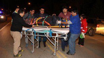 junin: atropellaron a un hombre sobre la ruta 40