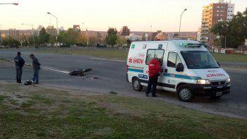 Motociclista fue atropellado por una camioneta petrolera