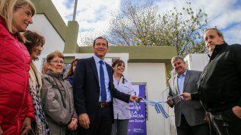 Gutiérrez inauguró el nuevo centro sanitario de Villa Florencia