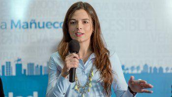 María Eugenia Mañueco, candidata a concejal por Libres.