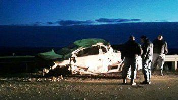 un joven murio en un tragico vuelco sobre la ruta 51