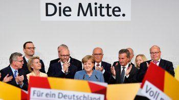 Merkel ganó en Alemania