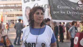 Angélica Lagunas, titular de la seccional Capital, y Marcelo Guagliardo, secretario general de ATEN, evidenciaron la pelea interna en el gremio docente.