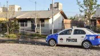 La vivienda donde ocurrió el hecho está ubicada en calle República de Italia al 4800, del barrio San Lorenzo.