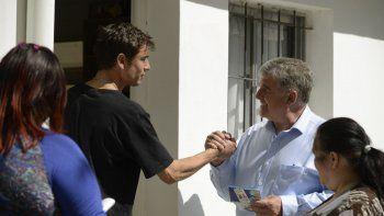 El candidato del MPN sigue de campaña por Neuquén capital.