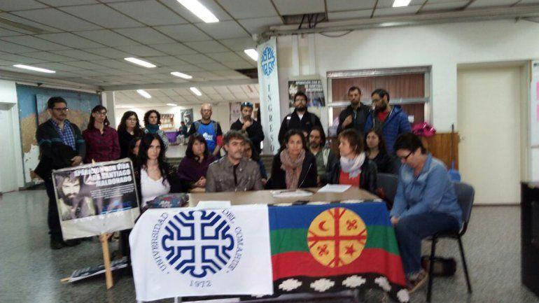 Docentes de la unco presentaron un documento en apoyo a for Concurso docentes exterior