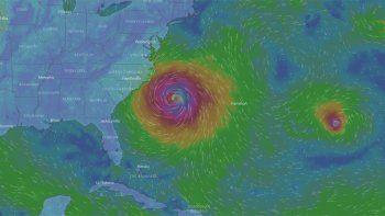 El huracán María toma rumbo hacia la costa este de EE.UU.