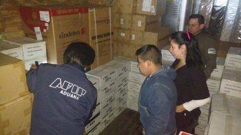 Descubren millonario contrabando en Paso Samoré: electrónica