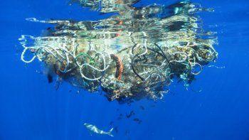 Ambientalistas quieren que una isla de basura integre la ONU