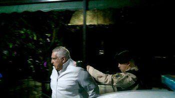 El Pata Medina está preso desde hace una semana en la cárcel de Ezeiza.