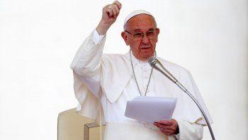 El Papa envió sus oraciones para los tripulantes