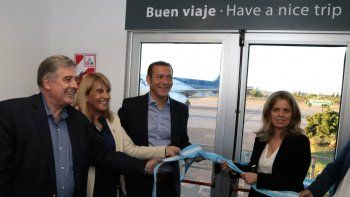 Gutiérrez sobre la nueva ruta aérea