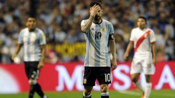 El milagro no llegó y Argentina empató con Perú: hoy estamos fuera del Mundial