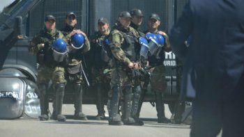 Megaoperativo de seguridad por la llegada del presidente Macri