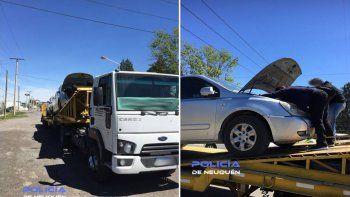 Encontró en un camión mosquito el auto que le habían robado
