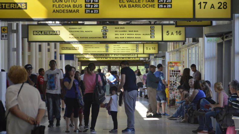 En enero pasaron 7400 pasajeros por día en la ETON