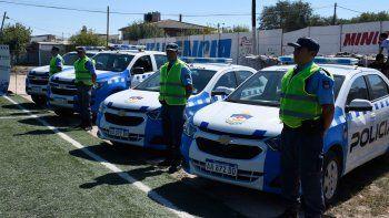 El Gobierno encaró un plan de renovación y equipamiento de la Policía.