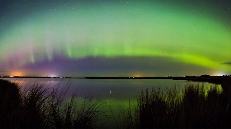 En vivo: así se ven las luces de la aurora boreal
