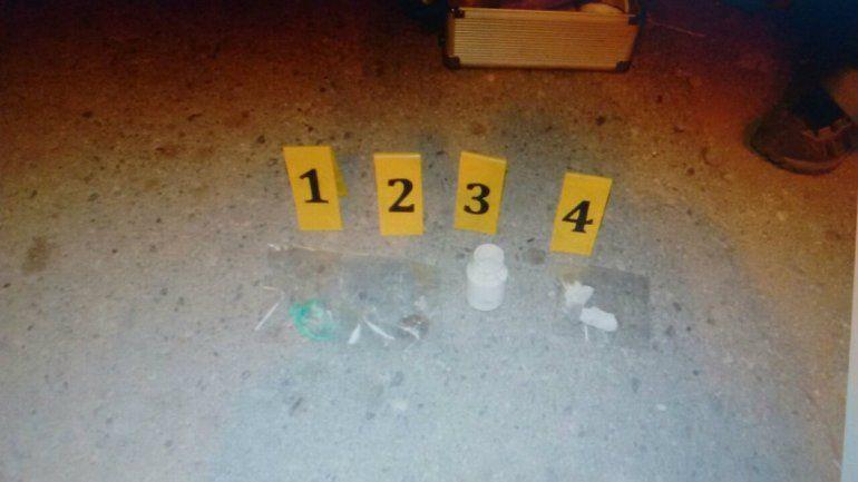 Los detienen con droga en un control sobre la Ruta 40