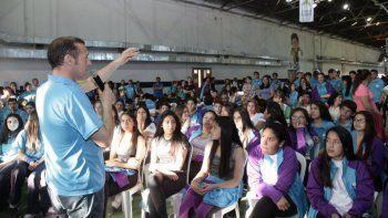 Gutiérrez despidió a la delegación que participará en los Juegos Evita