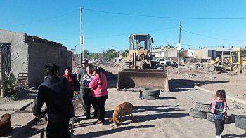 Vecinos bloquearon las obras del Metrobus en el Oeste